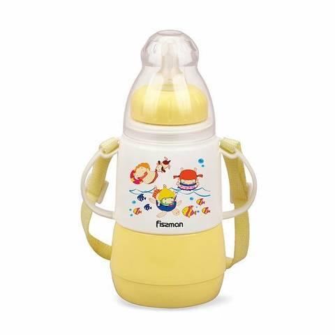 7953 FISSMAN Термобутылочка для кормления с соской 150 мл,  купить