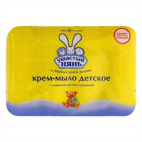 Крем-мыло УШАСТЫЙ НЯНЬ Экстракт ромашки 4*100 гр NC РОССИЯ