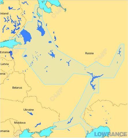 Внутренние водные пути Европейской части России