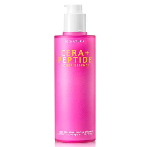 So'Natural Cera+ Peptide Toner Essence пептидный тонер-эссенция для зрелой кожи