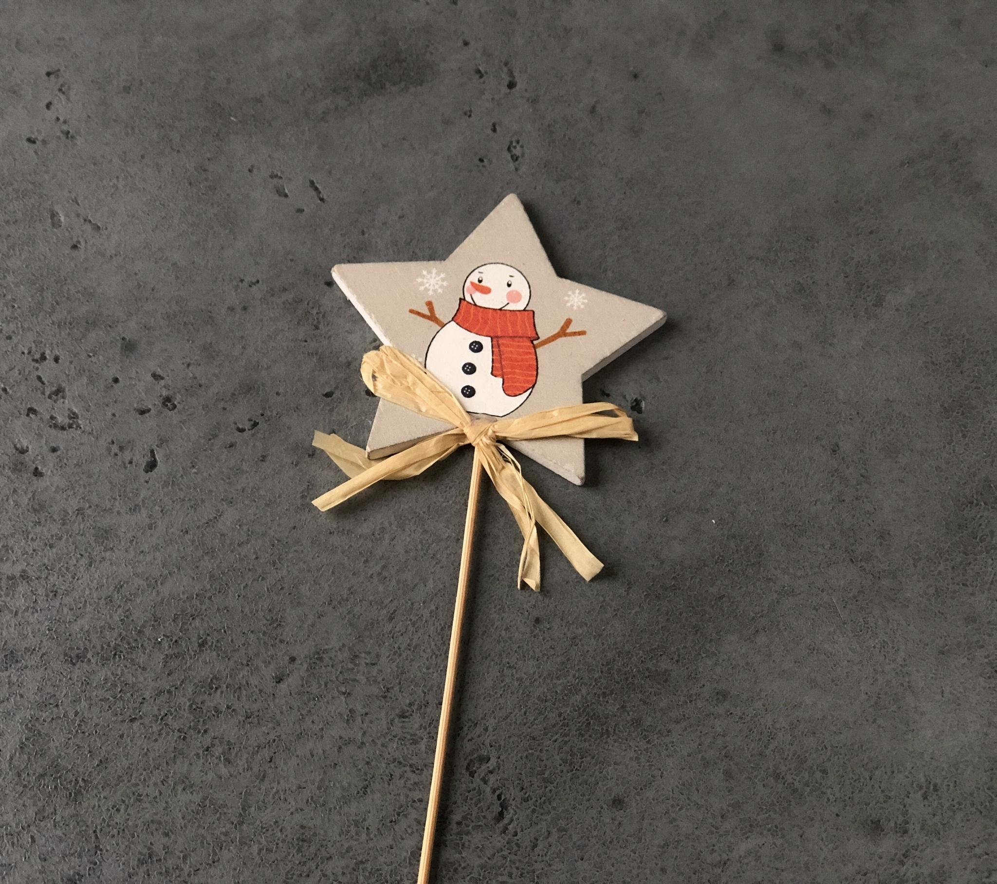 Топпер новогодний «Снеговик»