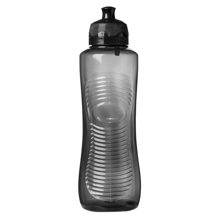 """Бутылка для воды Sistema """"Hydrate"""" 800  мл, цвет Черный"""