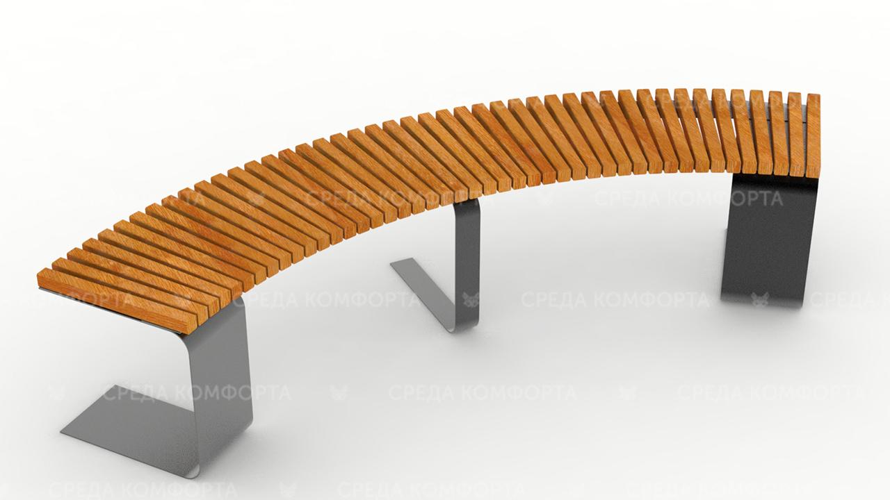 Полукруглая скамейка SCAM0047
