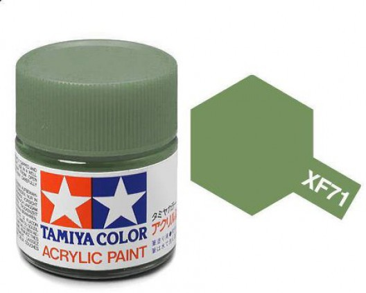 Tamiya Акрил XF-71 Краска Tamiya, Зеленый Кокпит Матовый (Cockpit Green IJN), акрил 10мл import_files_02_02759ce55aac11e4bc9550465d8a474f_95b315695b6211e4b26b002643f9dbb0.jpg