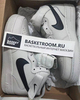 Nike Air Force 1 Mid 'White/Black' (Фото в живую)