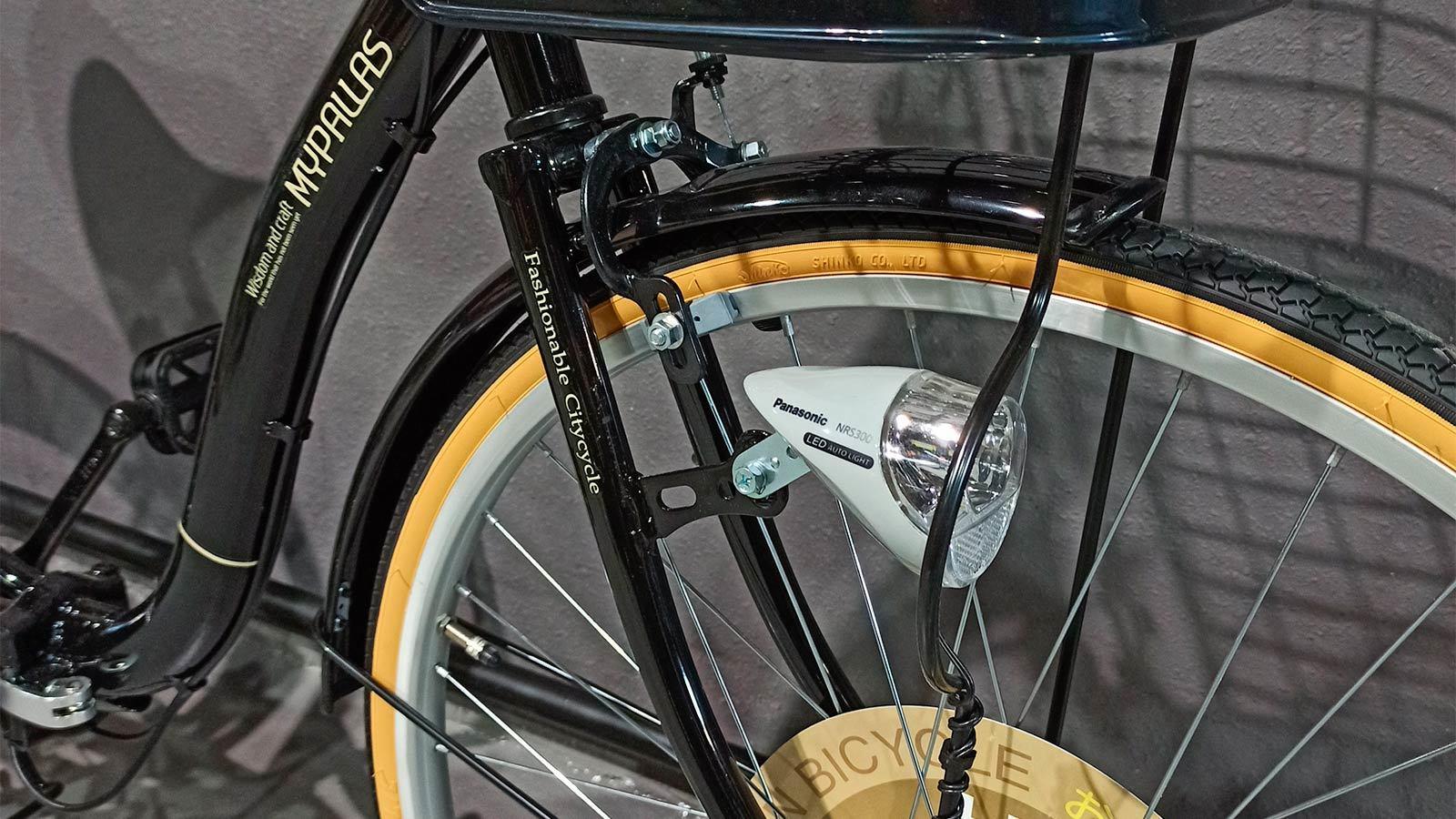 вилка переднего колеса складного велосипеда MyPallas M509