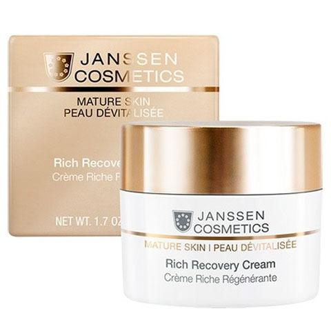Janssen Mature Skin: Обогащенный anti-age регенерирующий крем для лица с комплексом Cellular Regeneration (Rich Recovery Cream)