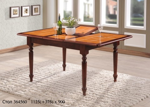 Обеденный стол 364560 деревянный махагон