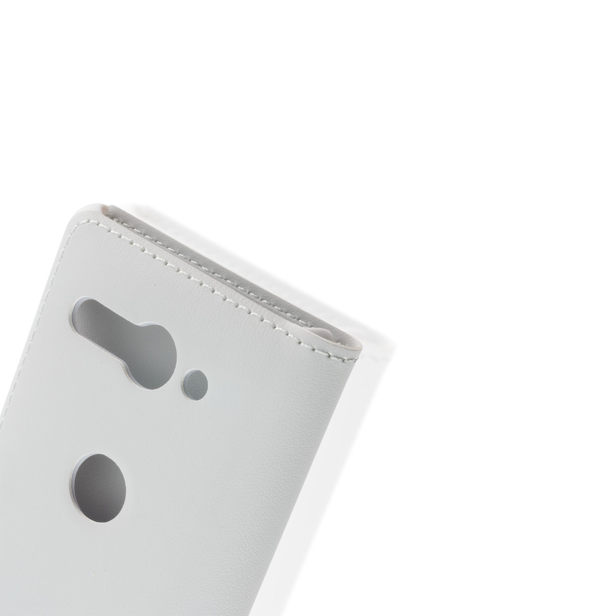 Brosco XZ2 Compact / Чехол-книжка, цвет серый