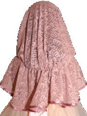 Детский неспадаемый платок