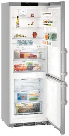 Двухкамерный холодильник Liebherr CBNef 5735
