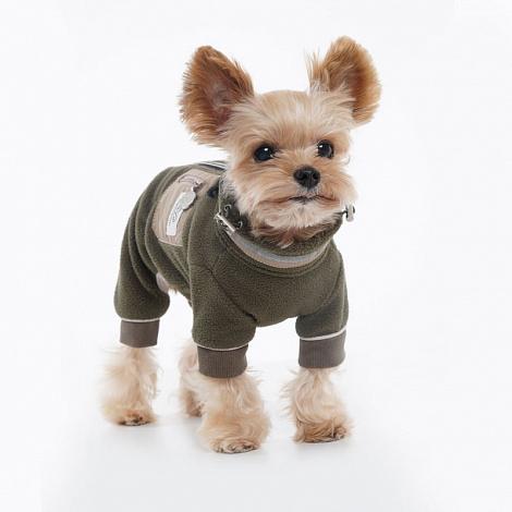419 PA - Флисовый коcтюм для собак девочек