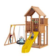 Детская площадка Jungle Palace + рукоход с гнездом