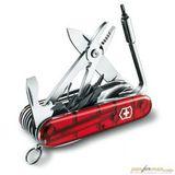Нож перочинный Victorinox CyberTool 41 1.7775.T 91мм 41 функция полупрозрачный красный