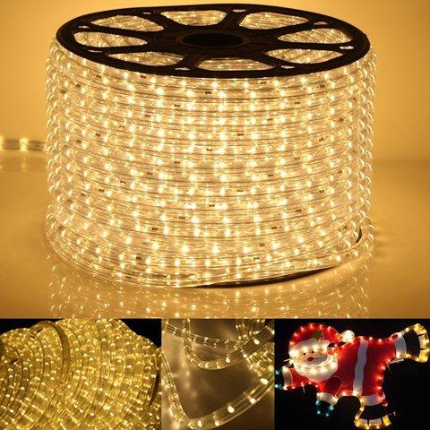 LED желтый дюралайт бухта светодиодный 2wrl