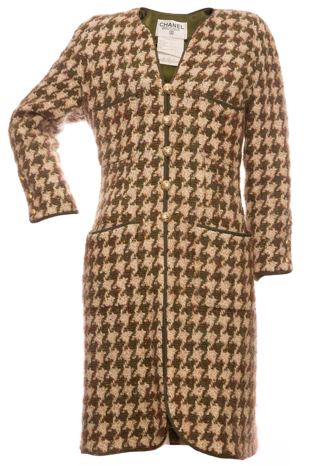 Роскошное шерстяное пальто от Chanel, 42 размер