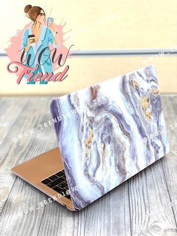 Накладка пластик MacBook Pro 13,3 Retina /picture marble gray/ DDC