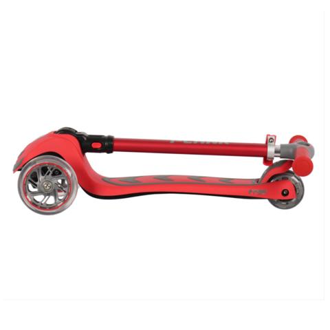Трехколесный самокат Plank Cyber со светящимися колесами