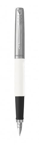 Перьевая ручка Parker Jotter White CT F