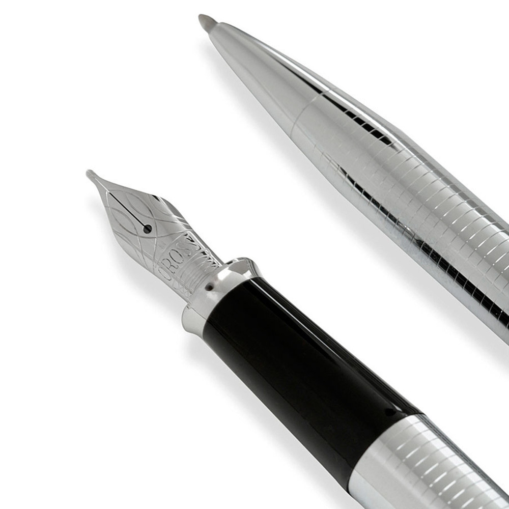 Подарочный набор - Cross, шариковая ручка + перьевая ручка
