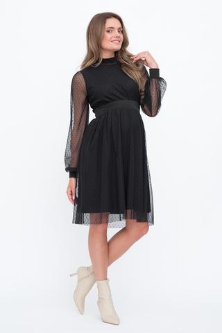 Платье для беременных 12776 черный
