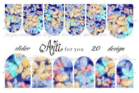 Слайдер наклейки Arti for you №20 купить за 100руб