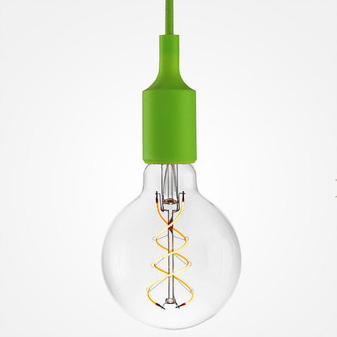 Подвесной светильник Loft SL018 (Зеленый)