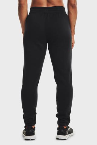 Женские черные спортивные брюки UA Rival Fleece Grdient Pant Under Armour