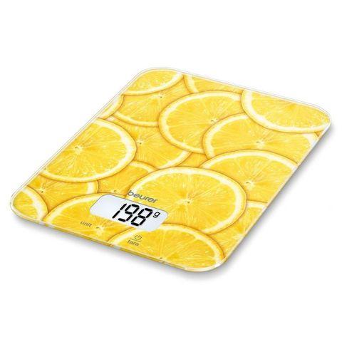 Весы кухонные электронные Beurer (B-KS19LE) lemon макс.вес:5кг рисунок