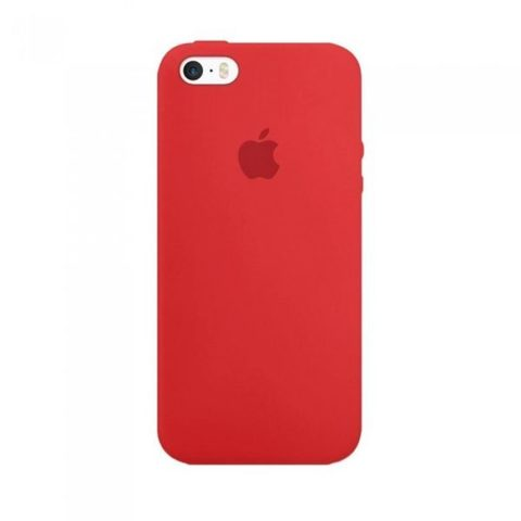 Чехол IP5/5S Silicone Case Red