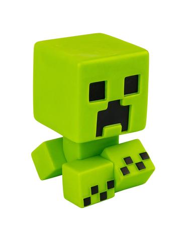 Фигурка Minecraft Creeper Green светится в темноте 13см