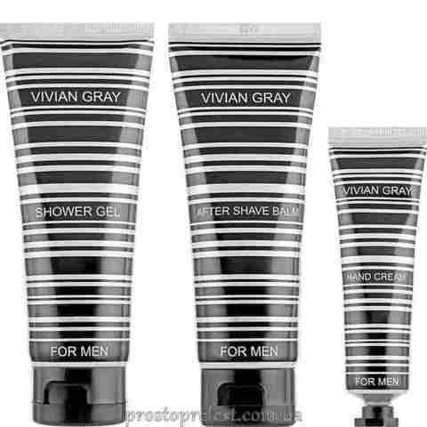 Vivian Gray For Men Set – Набір для чоловіків (крем для рук, бальзам після гоління, гель для душу)