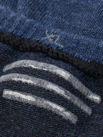 Следки синего цвета - тройная упаковка