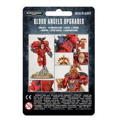 Blood Angels Upgrade Pack. Упаковка