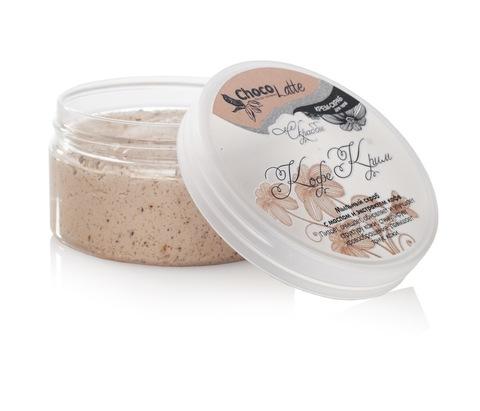 Мыльный скраб для тела СКРАББИ КОФЕ-КРИМ (с маслом и экстрактом кофе) ТМChocoLatte,200гр