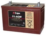 Тяговый аккумулятор Trojan 31-AGM ( 12V 100Ah / 12В 100Ач ) - фотография