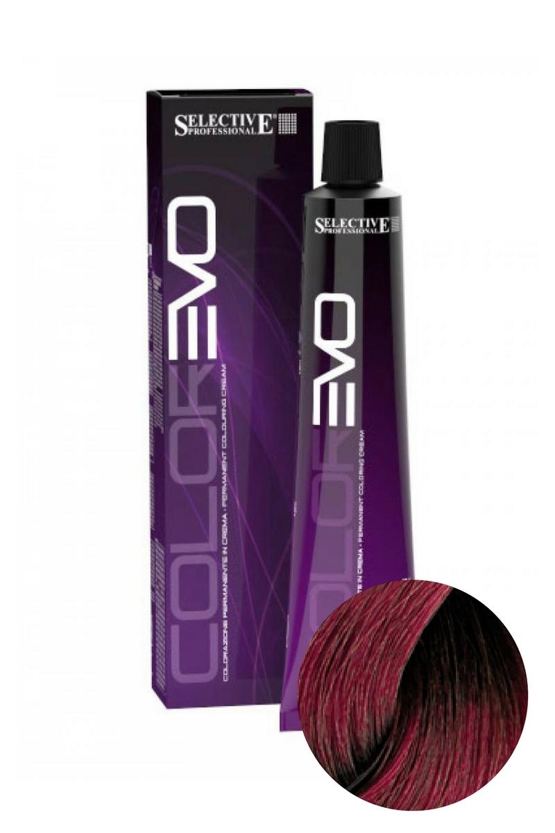 Краска для волос ColorEVO 7.67 (Блондин красно-фиолетовый), Selective, 100 мл
