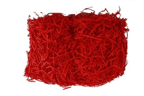 Бумажный наполнитель 100г (Цвет: темно-красный)