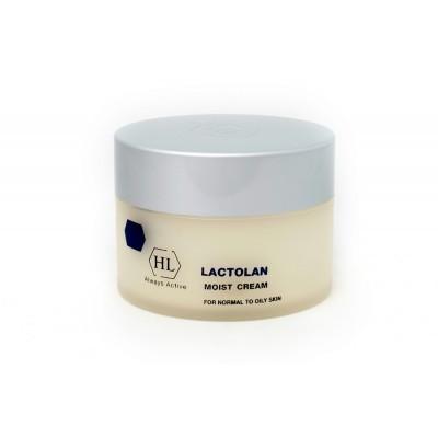 Holy Land Lactolan: Увлажняющий крем для сухой кожи лица (Moist Cream for Dry Skin), 70мл