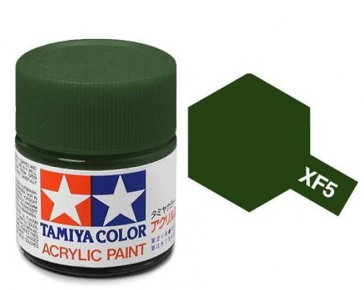 Tamiya Акрил XF-5 Краска Tamiya, Зеленый Матовый (Flat Green), акрил 10мл import_files_b9_b9307ef95a8411e4bc9550465d8a474f_e3fbec4f5b5511e4b26b002643f9dbb0.jpg