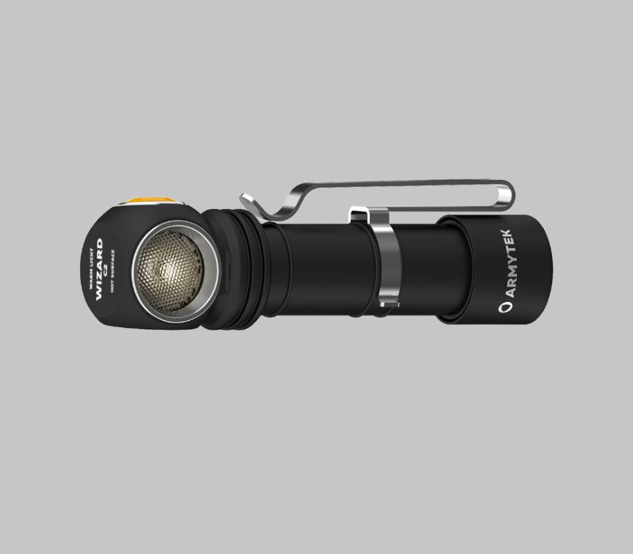 Фонарь Armytek Wizard C2 Magnet USB (теплый свет) - фото 3