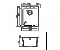 Схема Omoikiri Bosen 41-BL