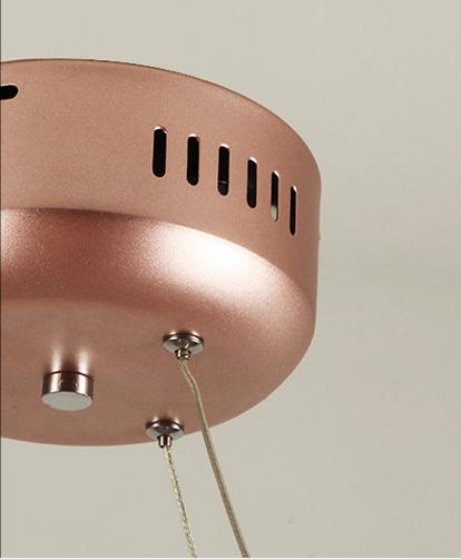 Подвесной светильник копия Heracleum II by Moooi (медный, D72cm)