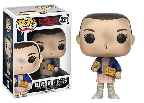 Eleven Stranger Things Funko Pop! Vinyl Figure || Одиннадцатая с вафлями Eggo's