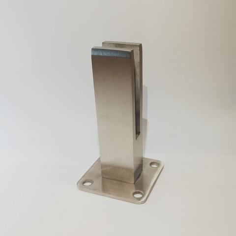 Стойка для стекла, стеклянных перил и ограждений ST-40-03 SSS, H=165 мм