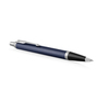 Parker IM Core - Matte Blue CT, шариковая ручка, M