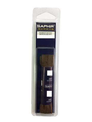 Шнурки Плоские 75см, ширина  8 мм  (4 цвета) Saphir