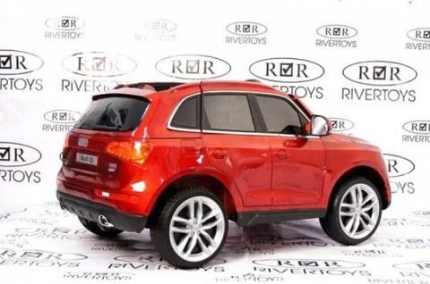 Детский электромобиль Rivertoys AUDI Q5-CHERRY-GLANEC вишневый глянец