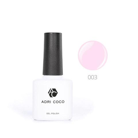 Цветной гель-лак ADRICOCO №003 холодно-розовый (8 мл.)