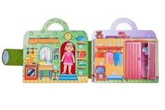 Развивающая игра из фетра Кукольный домик, Smile decor
